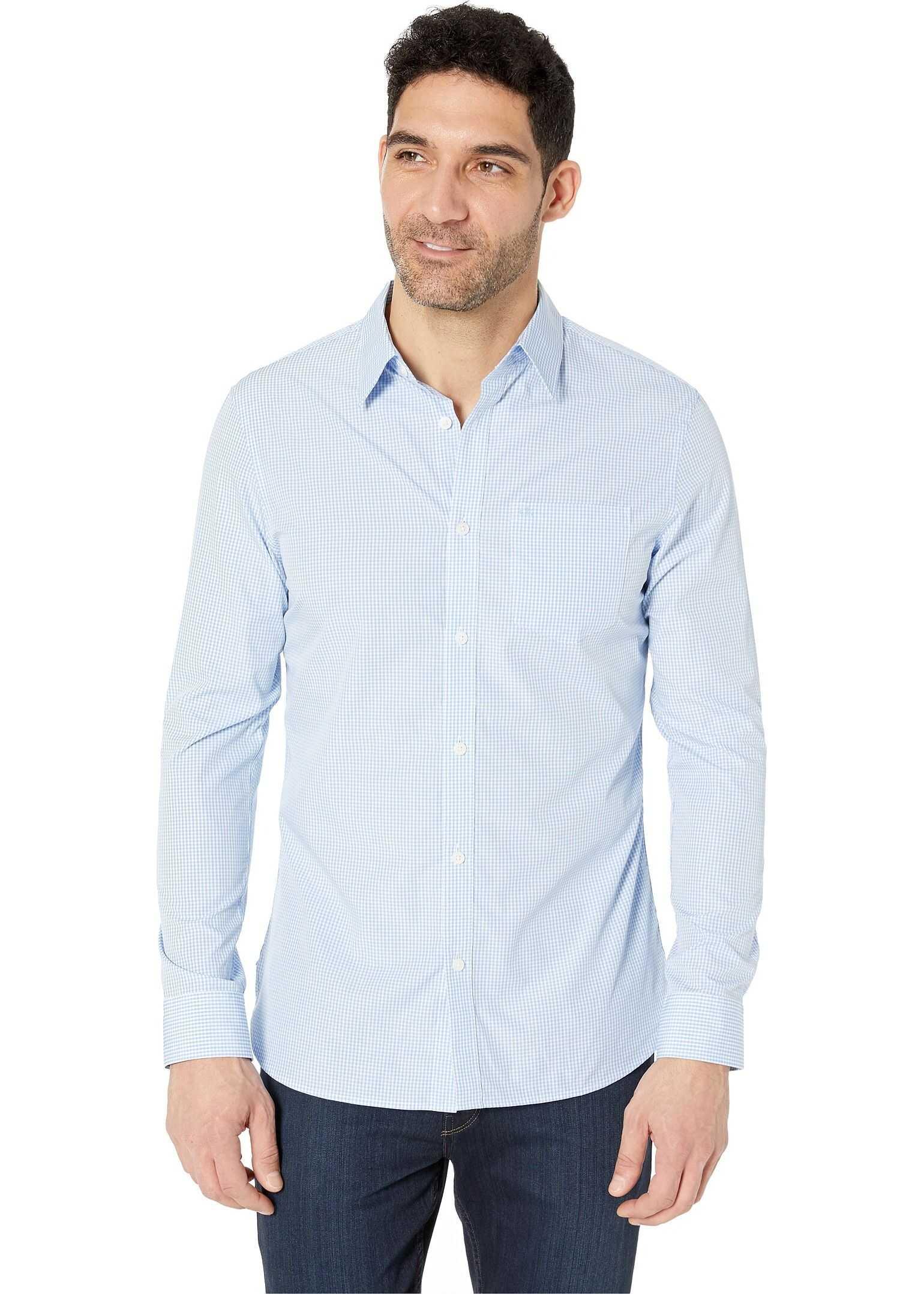 Calvin Klein The Extra-Fine Cotton Shirt Cold Lake