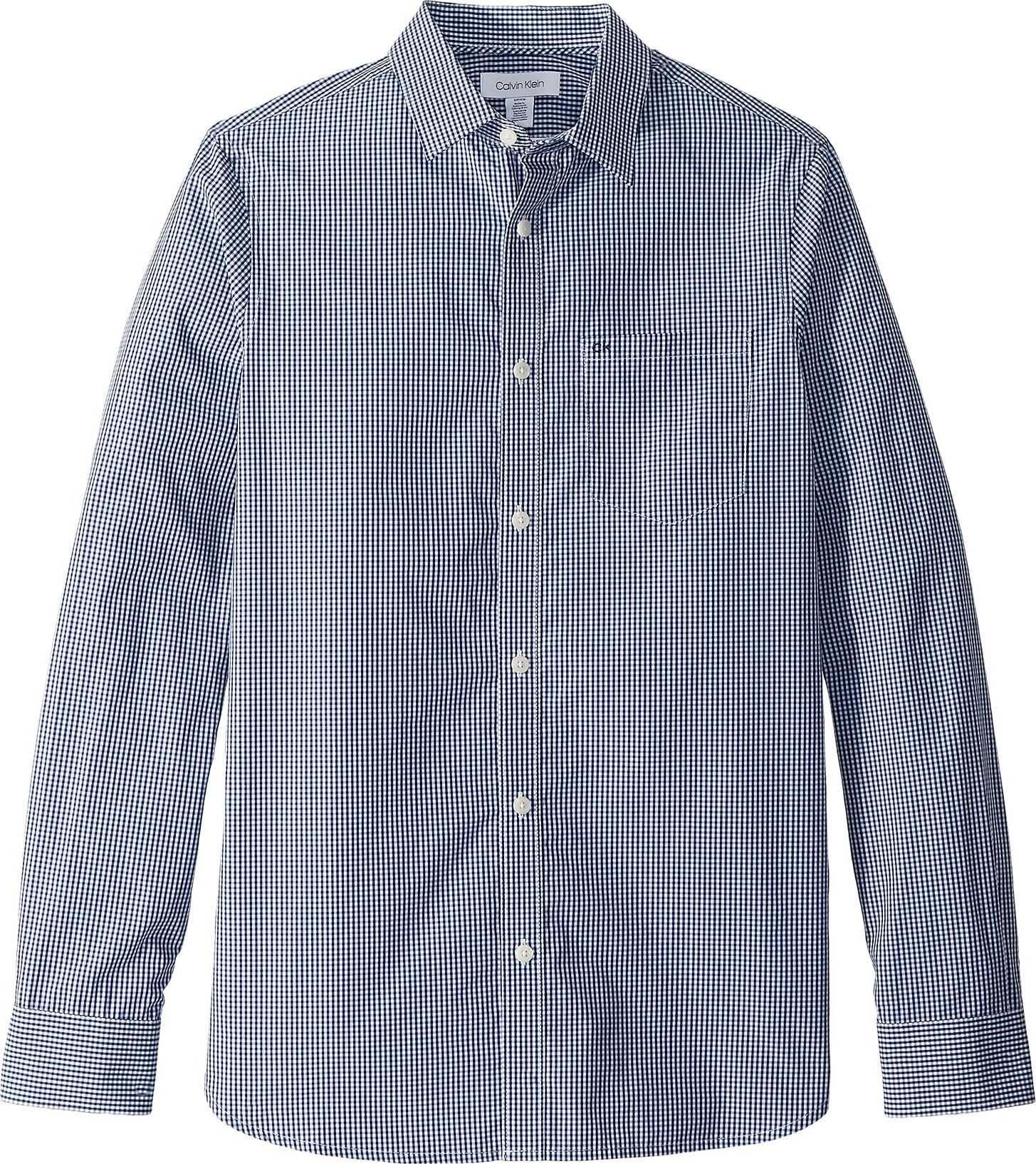 Calvin Klein The Extra-Fine Cotton Shirt Royal Navy