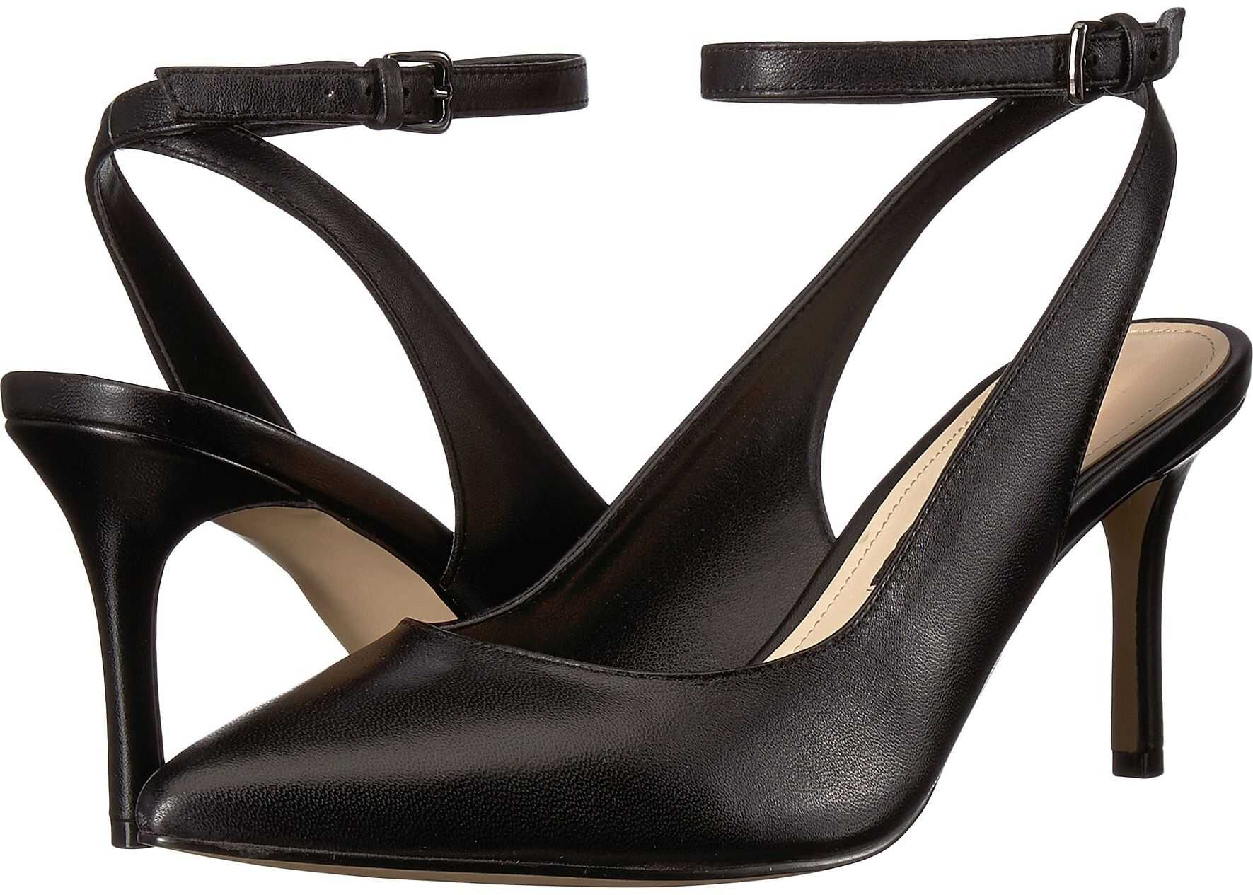 Nine West Miss Thing Pointed Toe Pump Black Leather