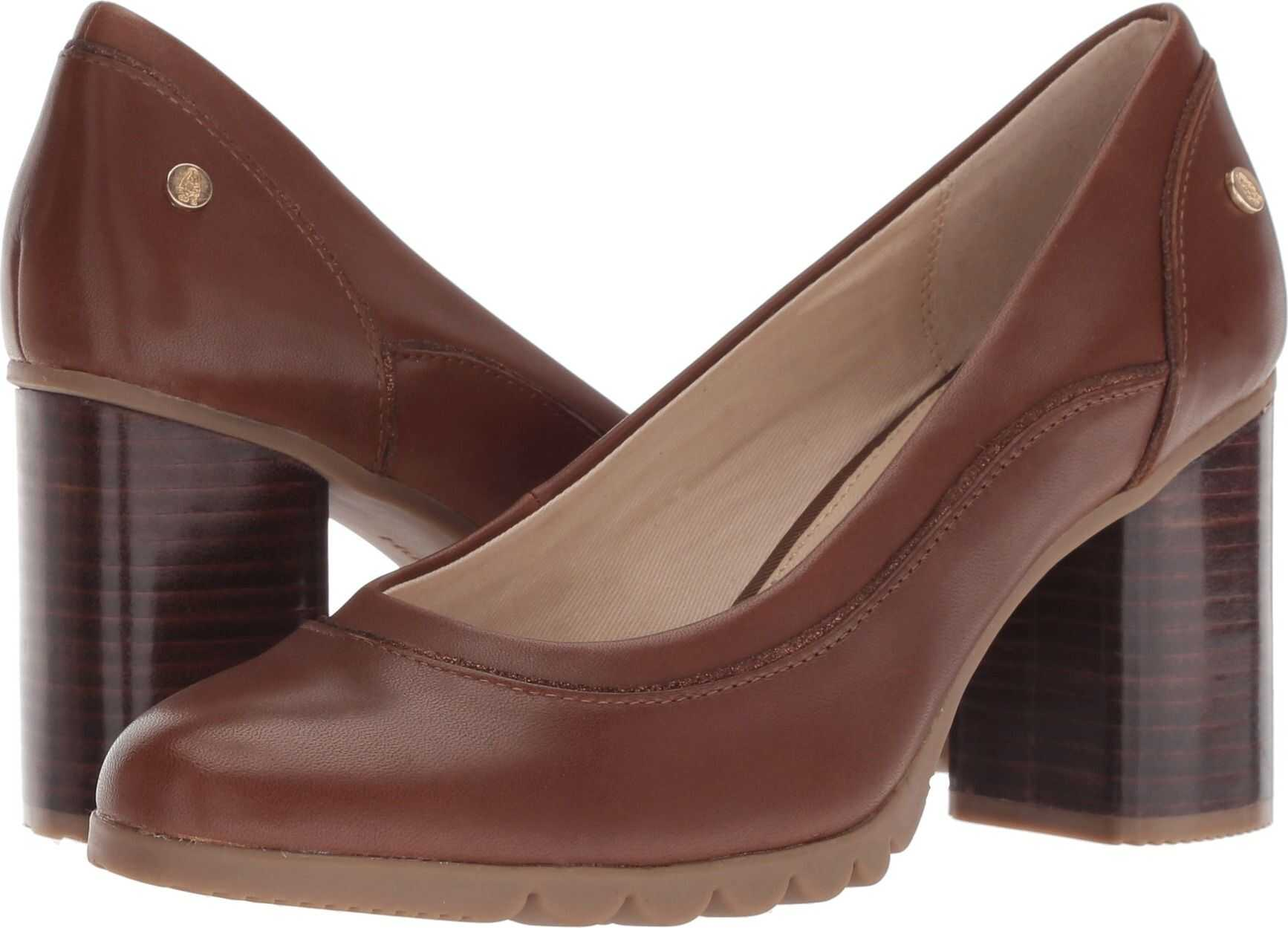 Hush Puppies Spaniel Pump Dachshund Leather