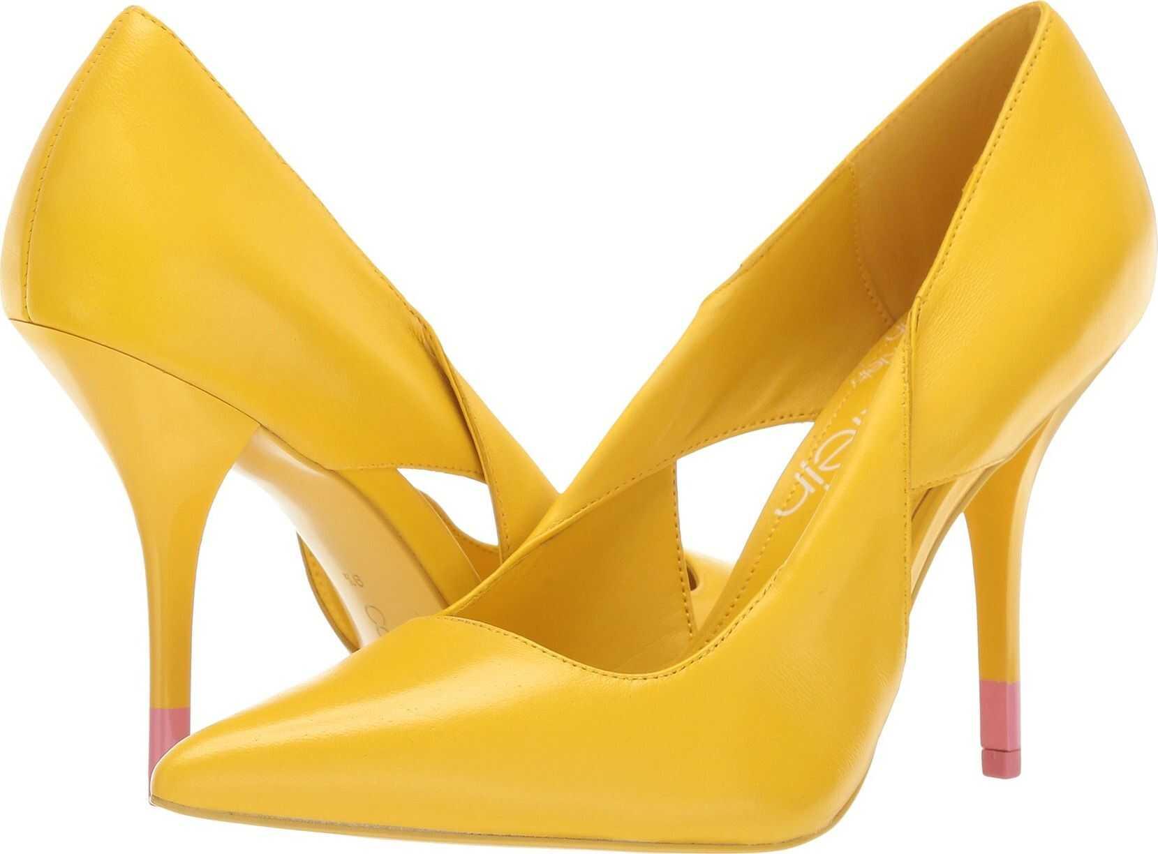 Calvin Klein Monisha Lemon Nappa