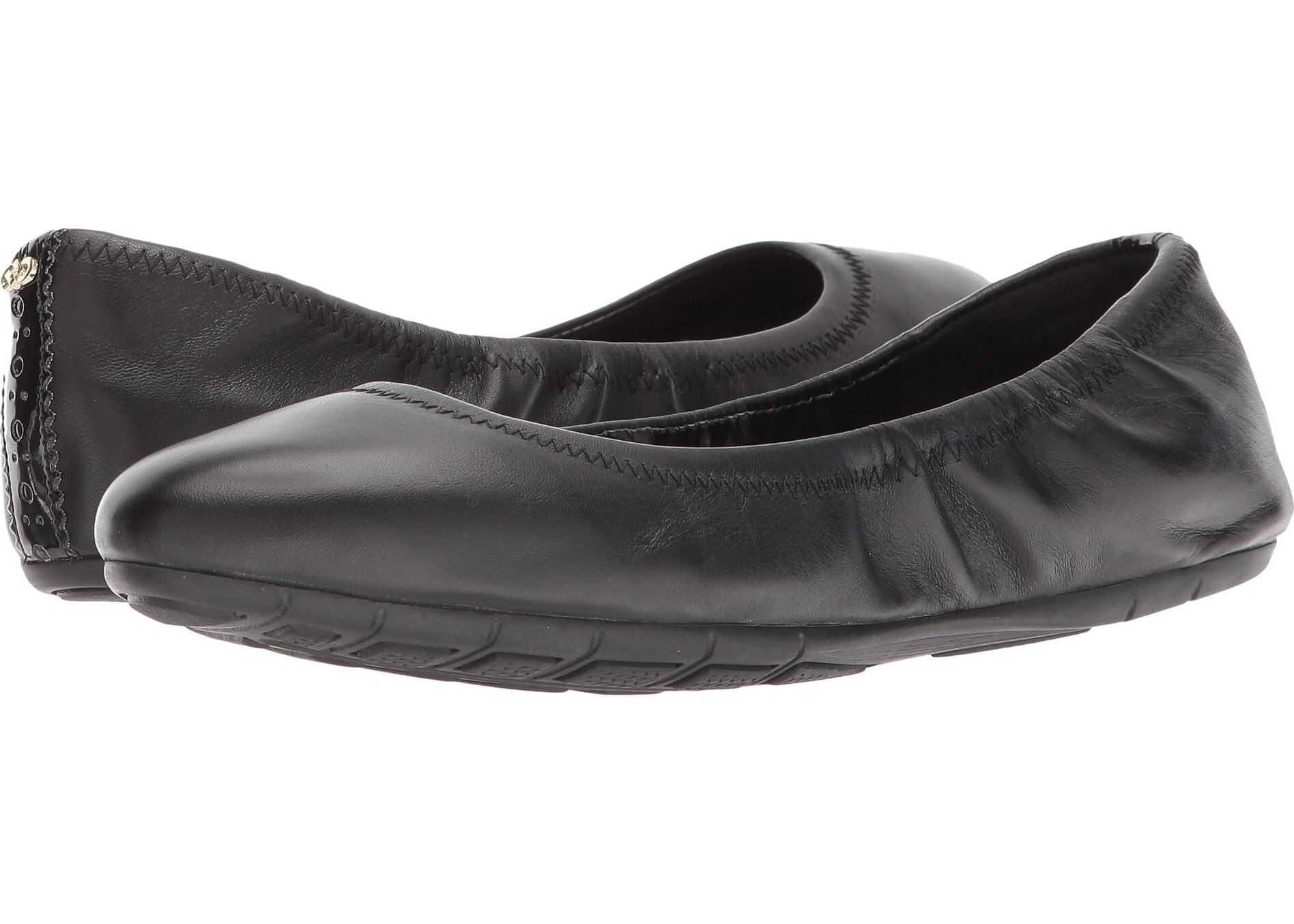 Cole Haan Zerogrand Ballet II Black Leather