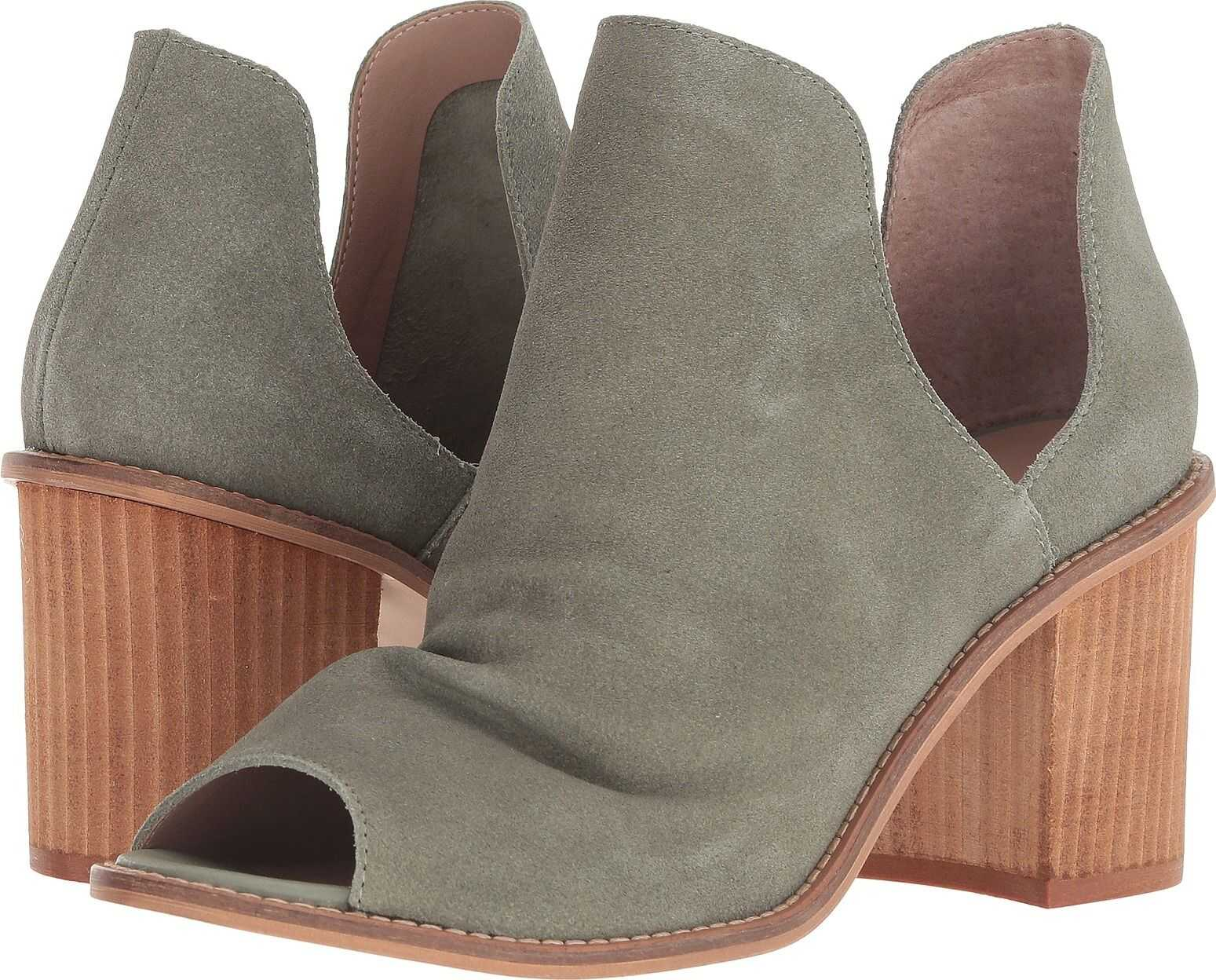 Chinese Laundry Carlita Olive Split Suede