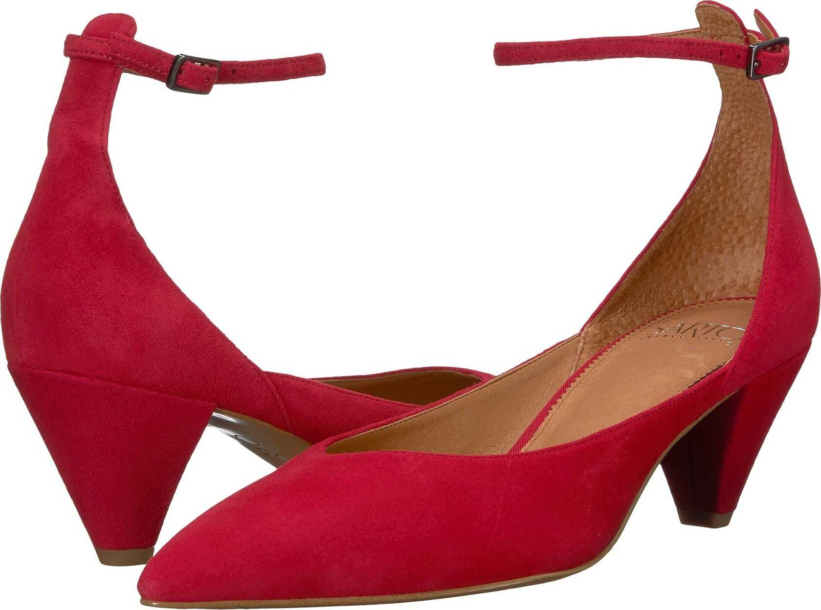 Franco Sarto Coralie Cherry Suede Leather