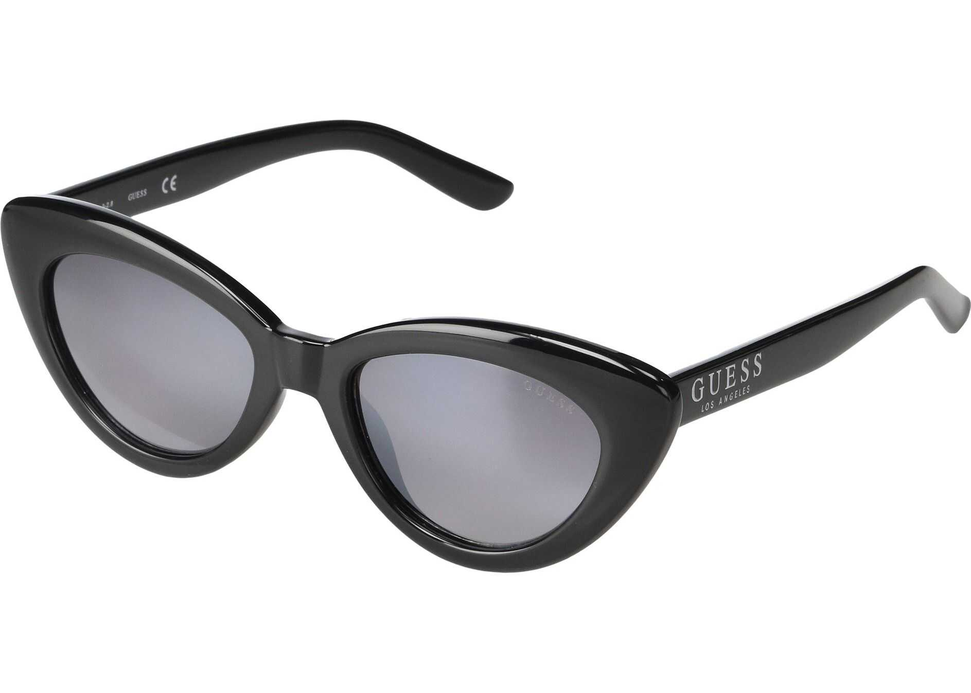 GUESS GF6087 Shiny Black/Gradient Smoke