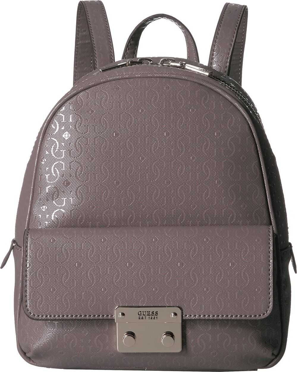 GUESS Tamra Small Backpack Taupe