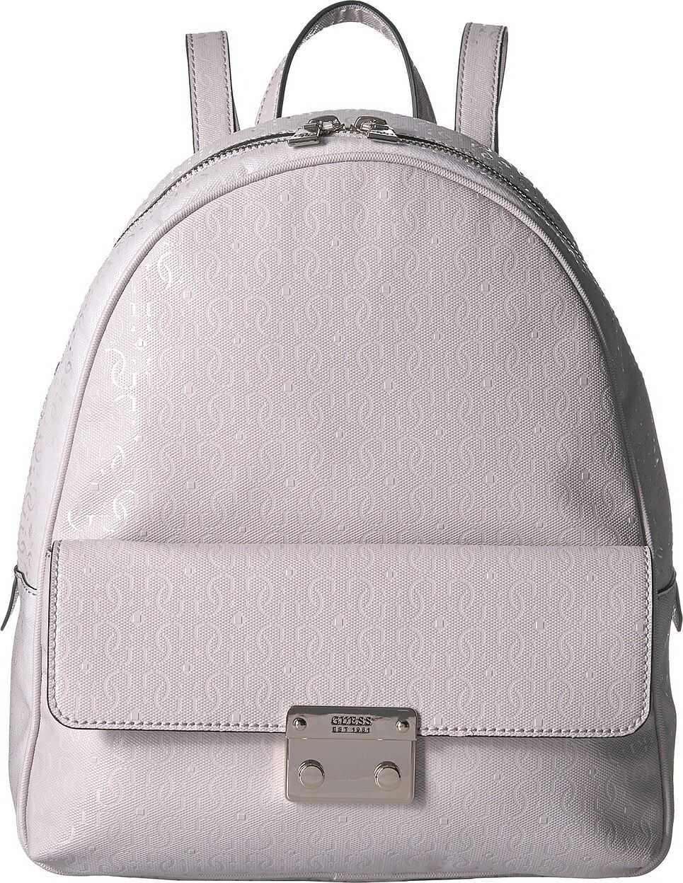 GUESS Tamra Small Backpack Stone 1