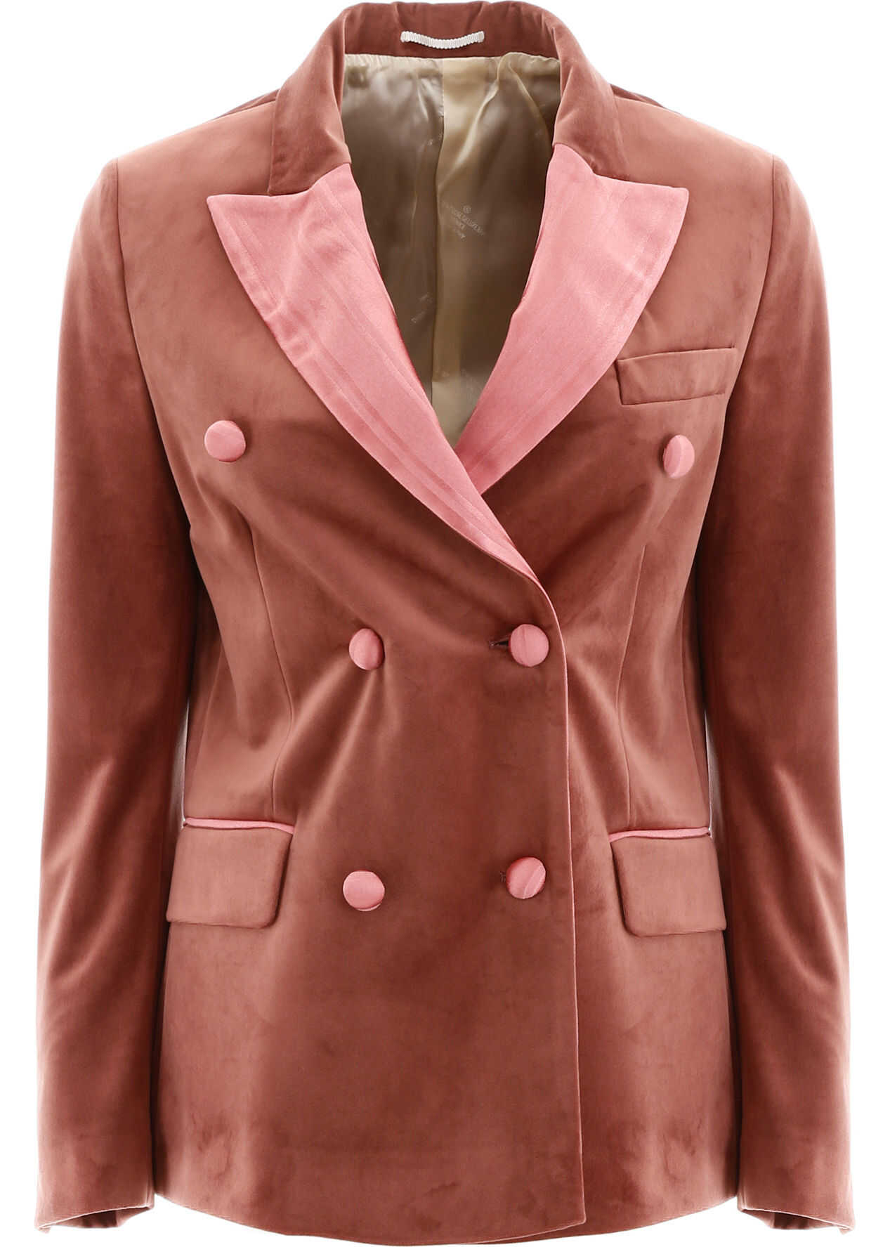 Golden Goose Velvet Jacket PEACH DUSTY PINK
