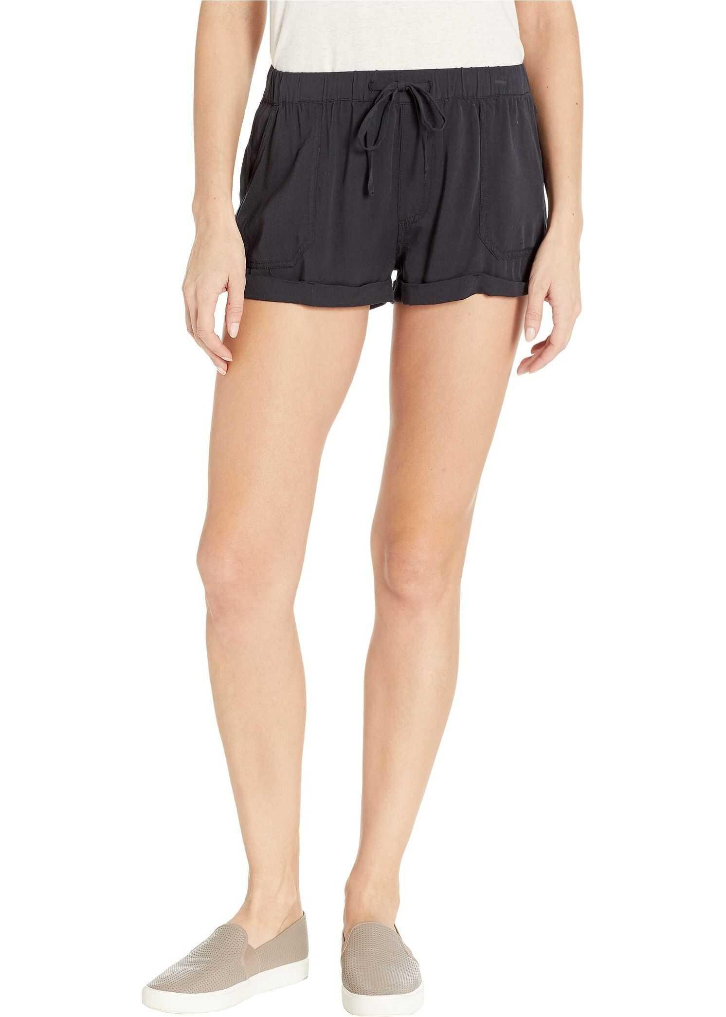Volcom Sunday Strut Shorts Ink Black