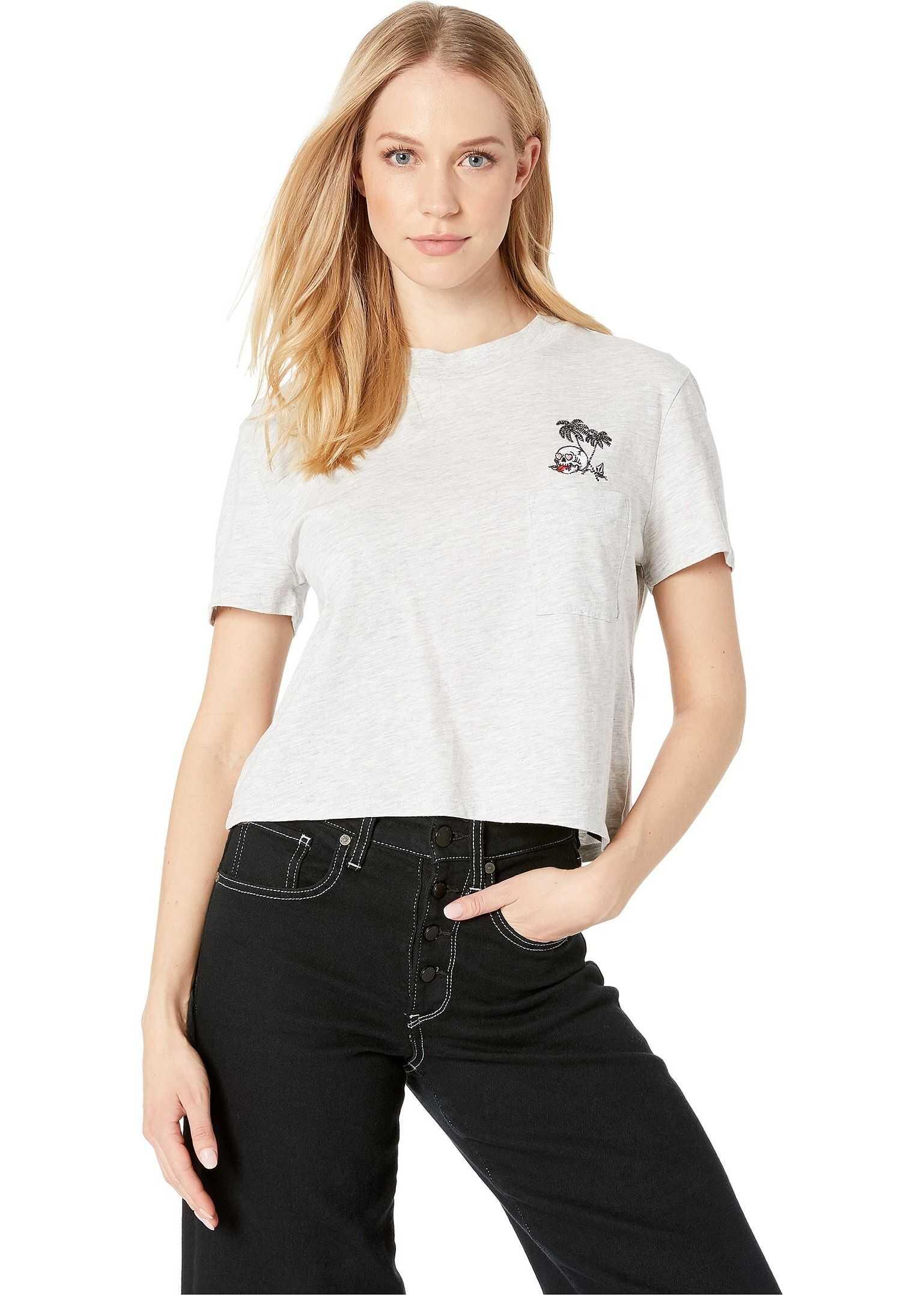 Volcom Stone Grown T-Shirt Light Grey
