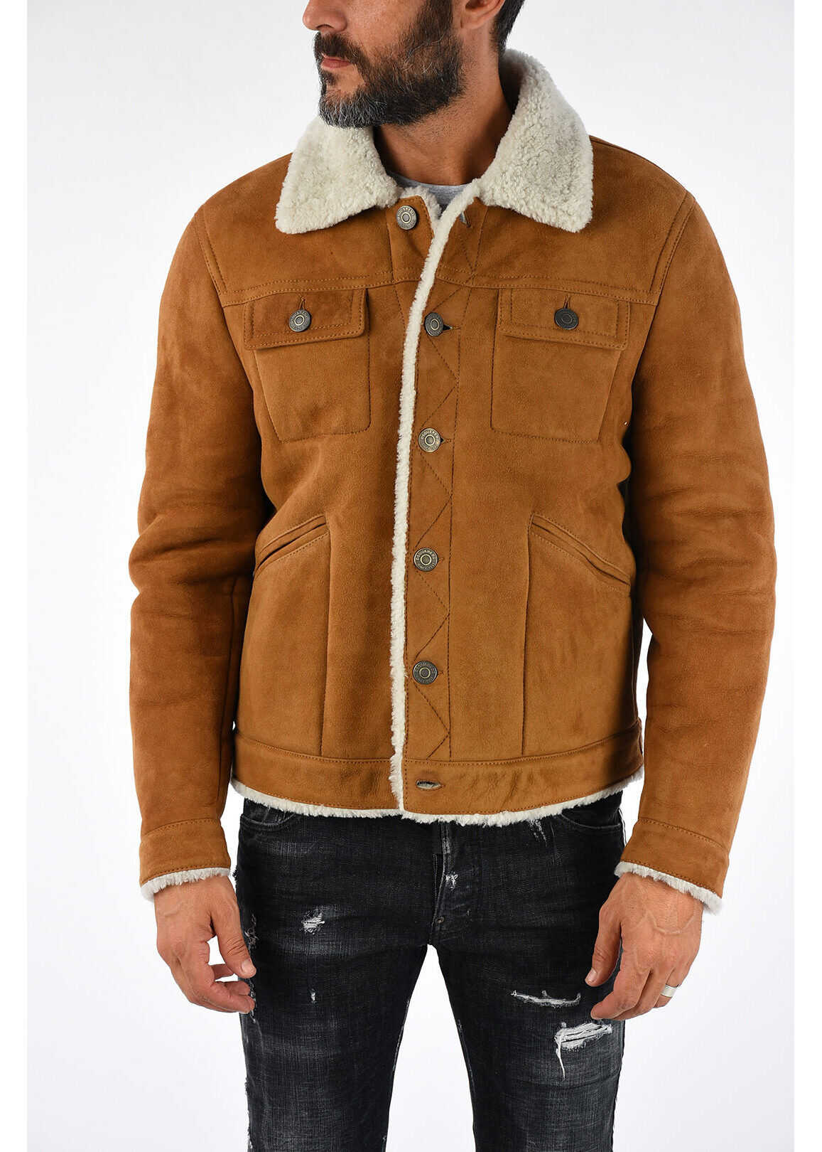 DSQUARED2 Shearling Jacket N/A