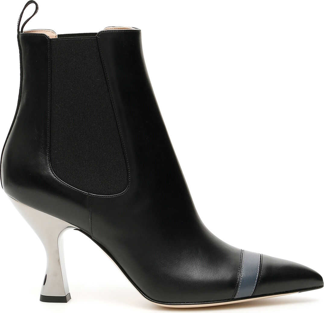 Fendi Colibri' Booties NERO ANTRACITE NERO