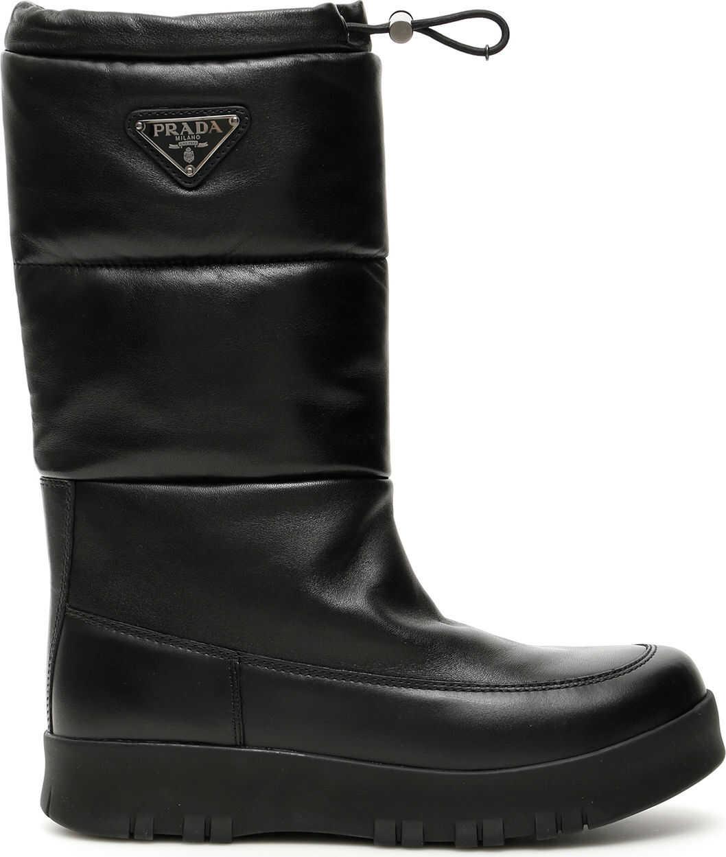 Prada Nappa Boots NERO