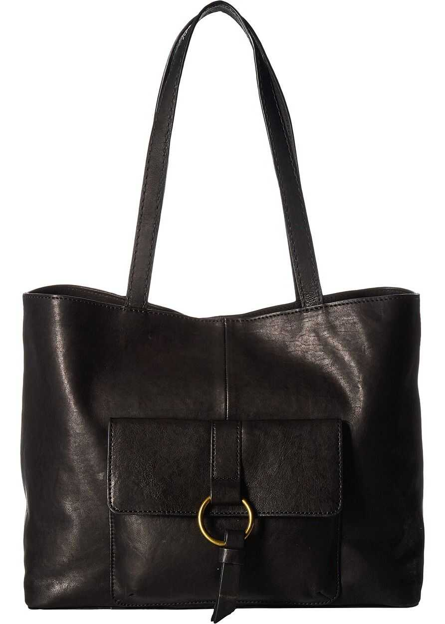 Frye Madison Harness Tote Black