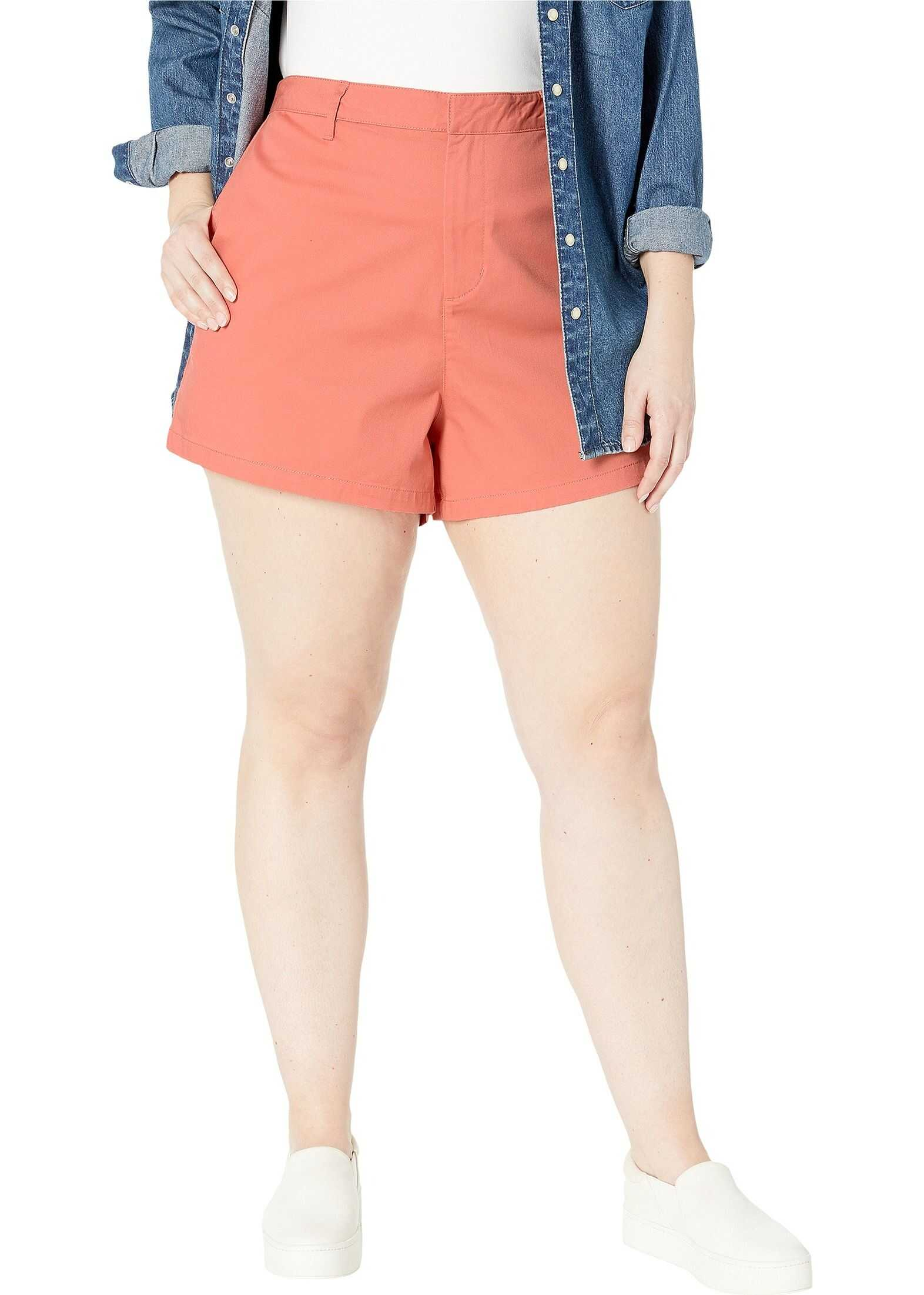 Volcom Plus Size Frochickie Shorts Terracotta