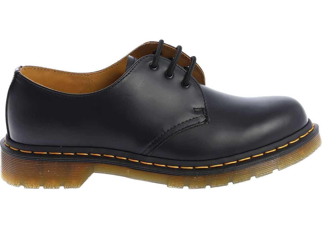 Dr. Martens Smooth 1461 59 Derby Shoes In Black Black