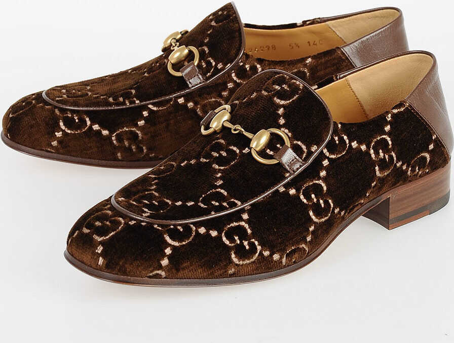 Gucci Chenille Loafers N/A