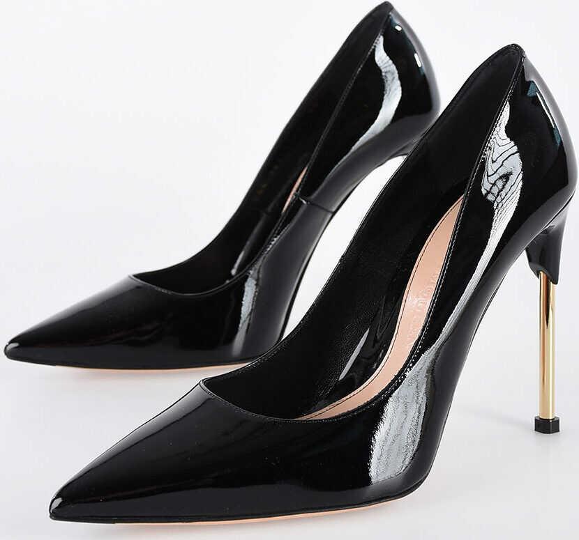 Alexander McQueen 11cm Leather Pumps BLACK