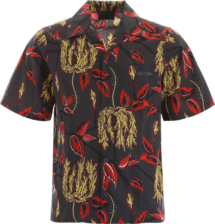 Prada Printed Bowling Shirt FUMO