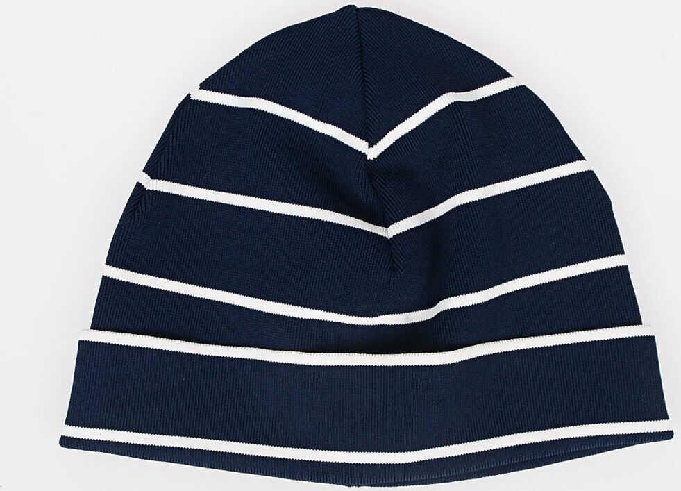 Neil Barrett Striped Hat BLUE
