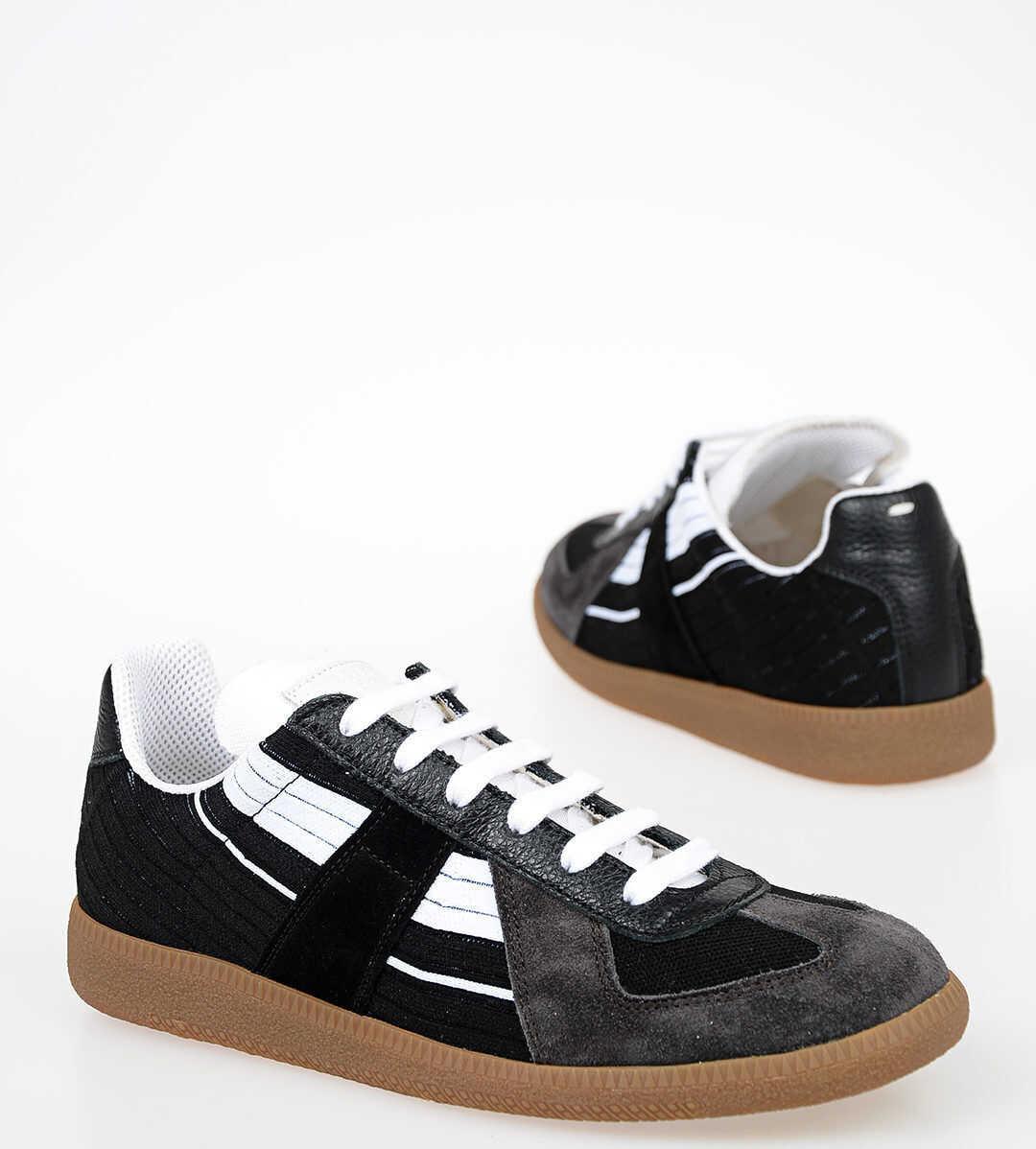 Maison Margiela MM22 Fabric Leather Sneakers MULTICOLOR