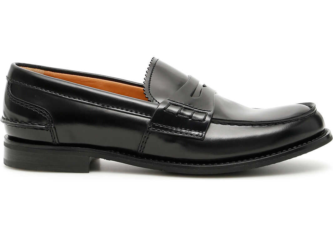 Church's Pembrey Loafers BLACK