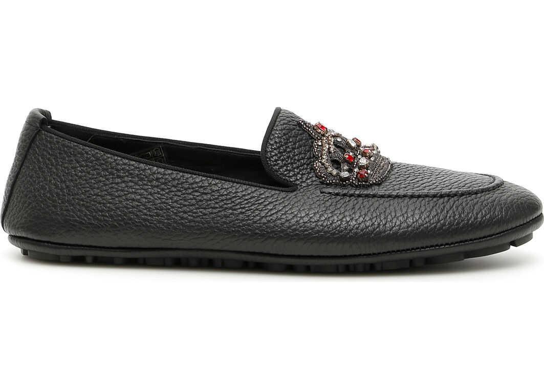 Dolce & Gabbana King Driving Shoes NERO