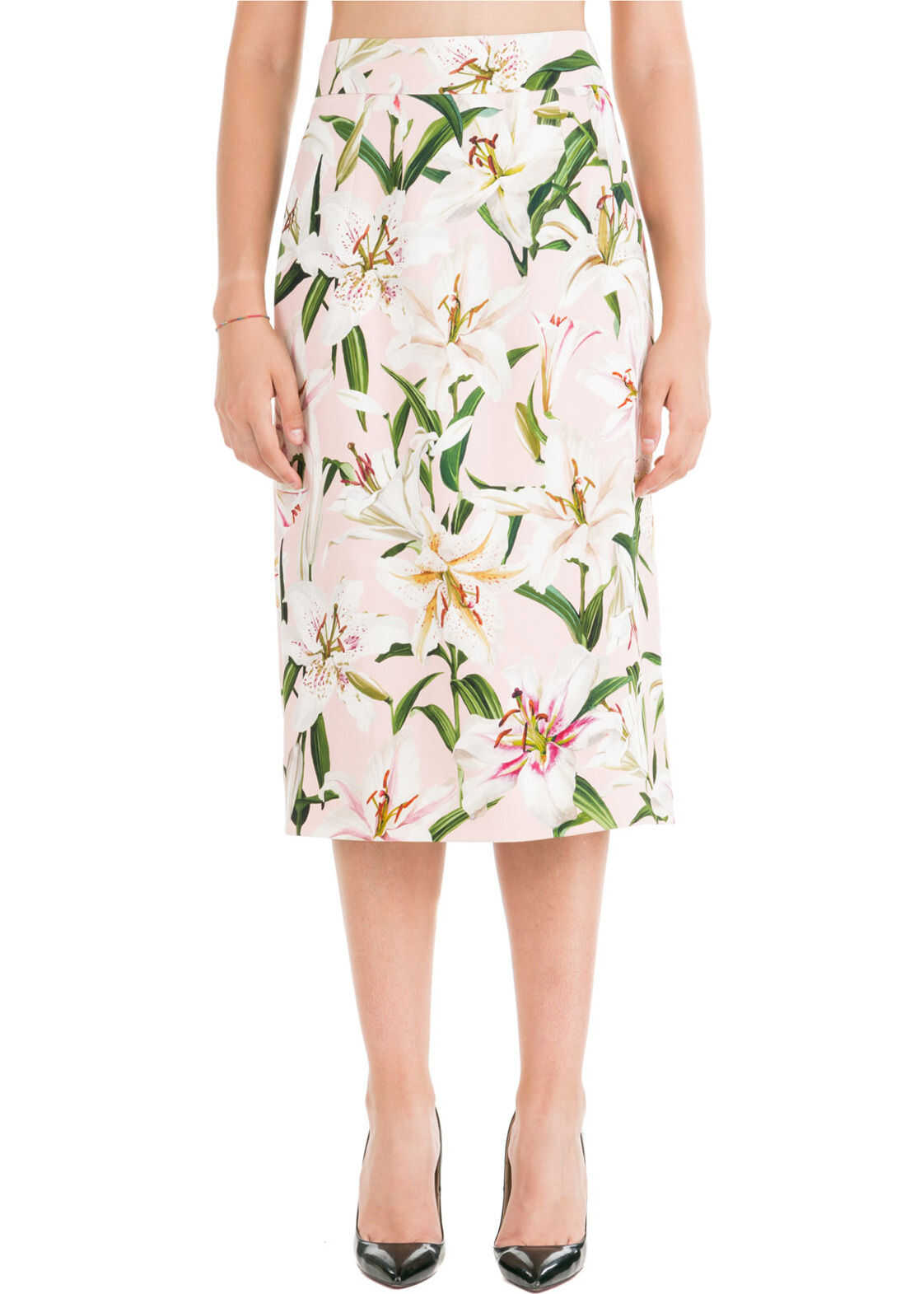 Dolce & Gabbana Skirt Longuette Pink