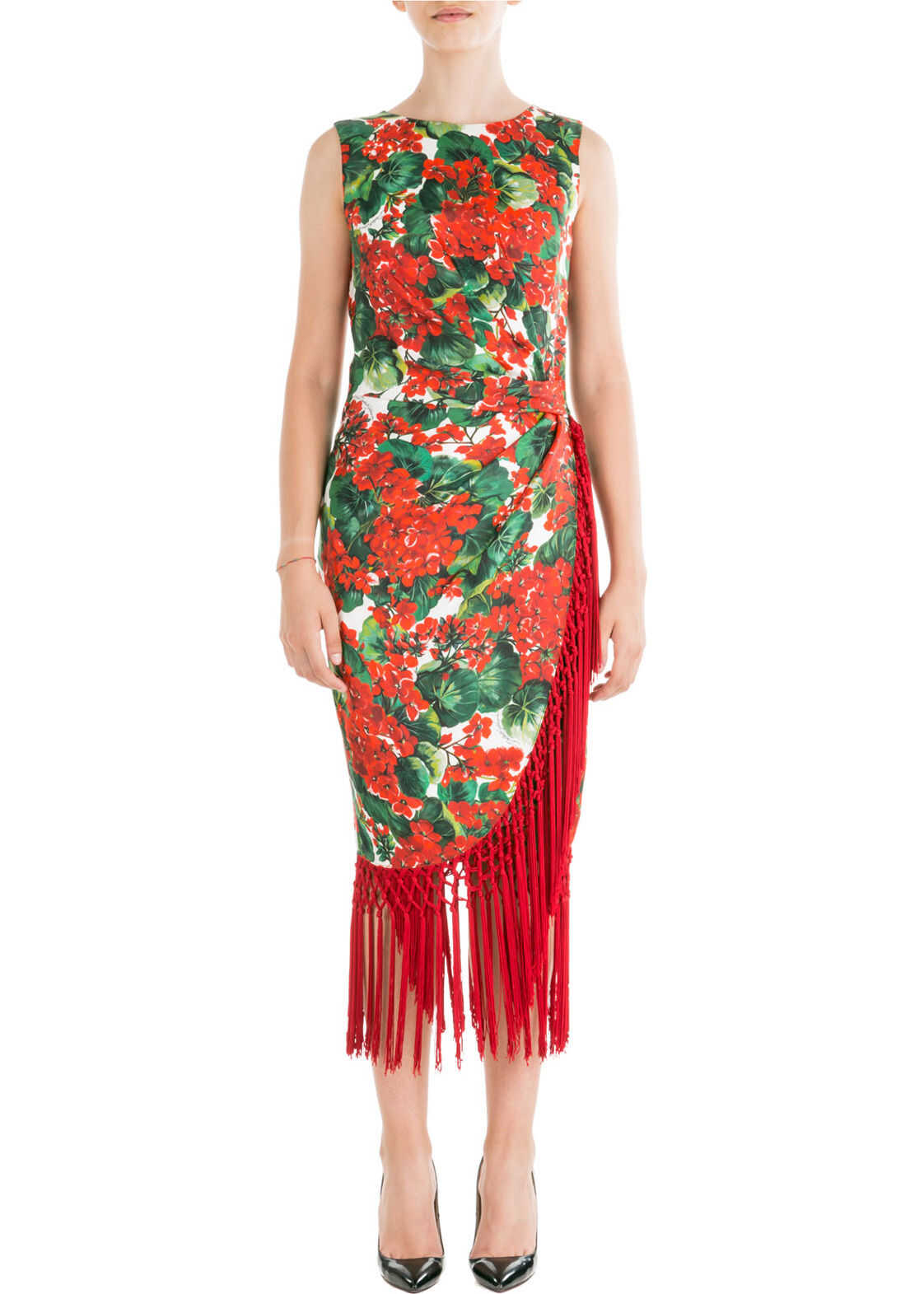 Dolce & Gabbana Dress Sleeveless Red
