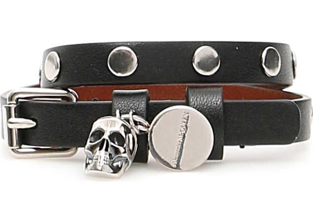 Alexander McQueen Pionier Bracelet BLACK