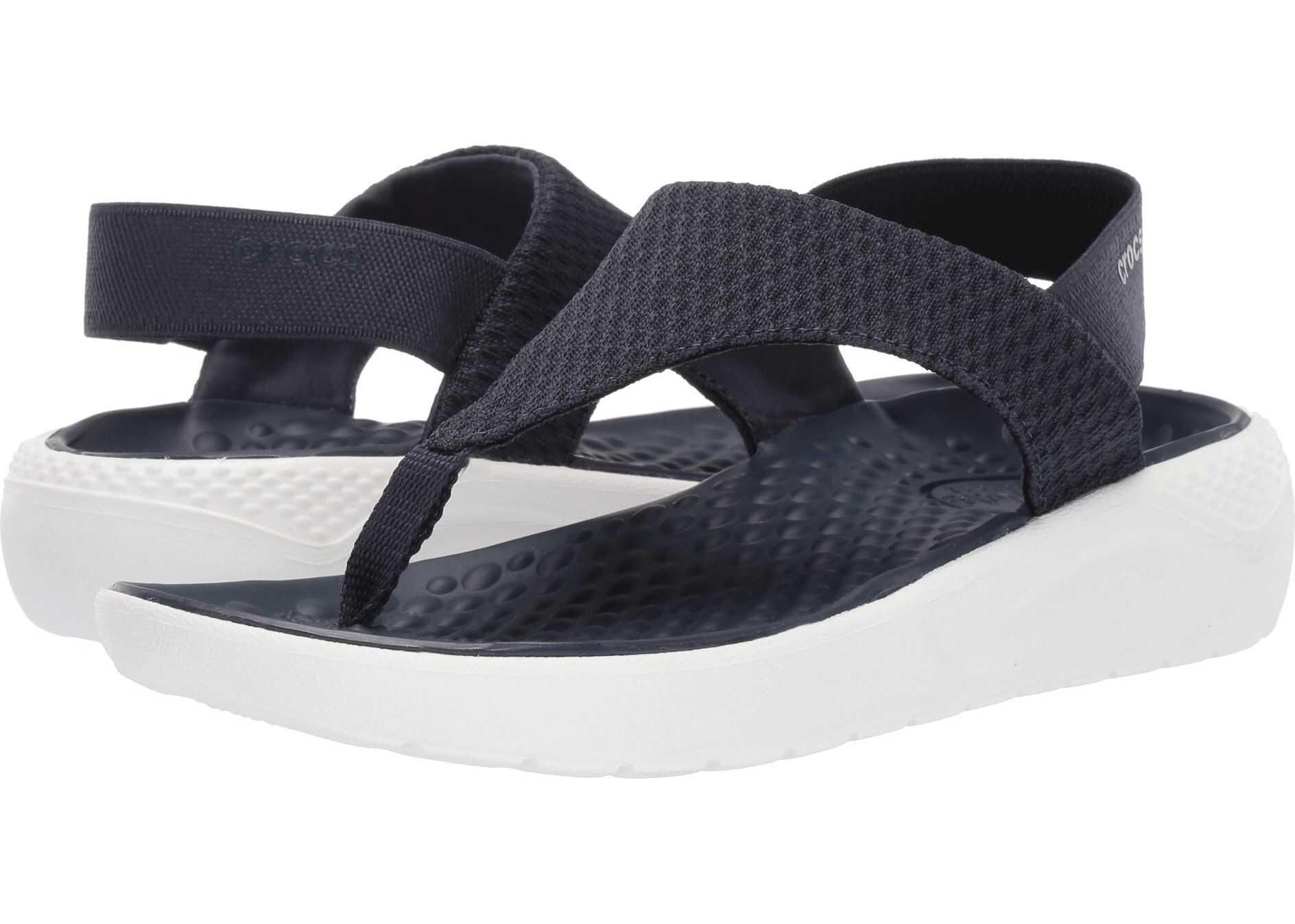 Crocs LiteRide Mesh Flip Navy/White