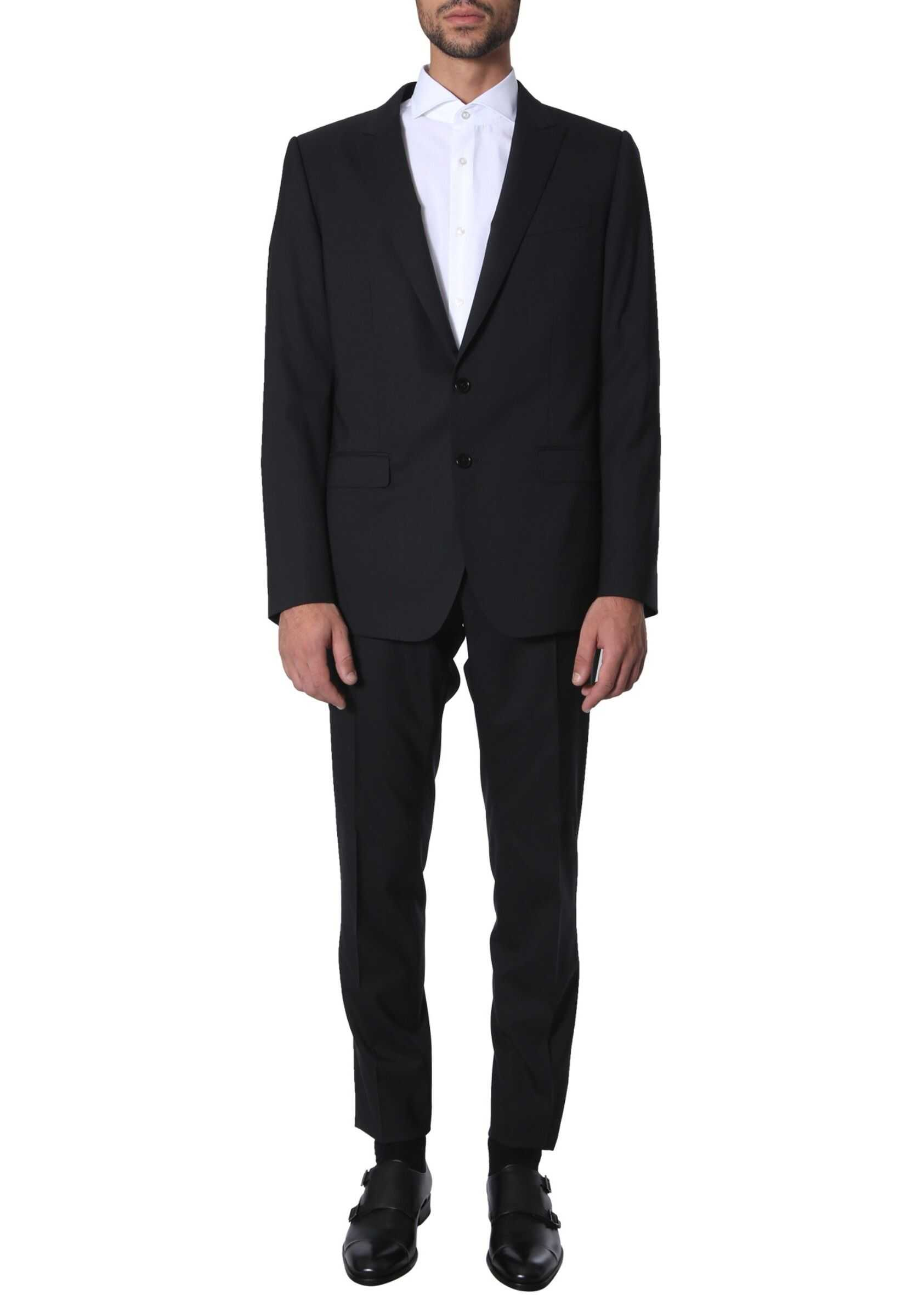 Dolce & Gabbana Slim Fit Suit BLACK
