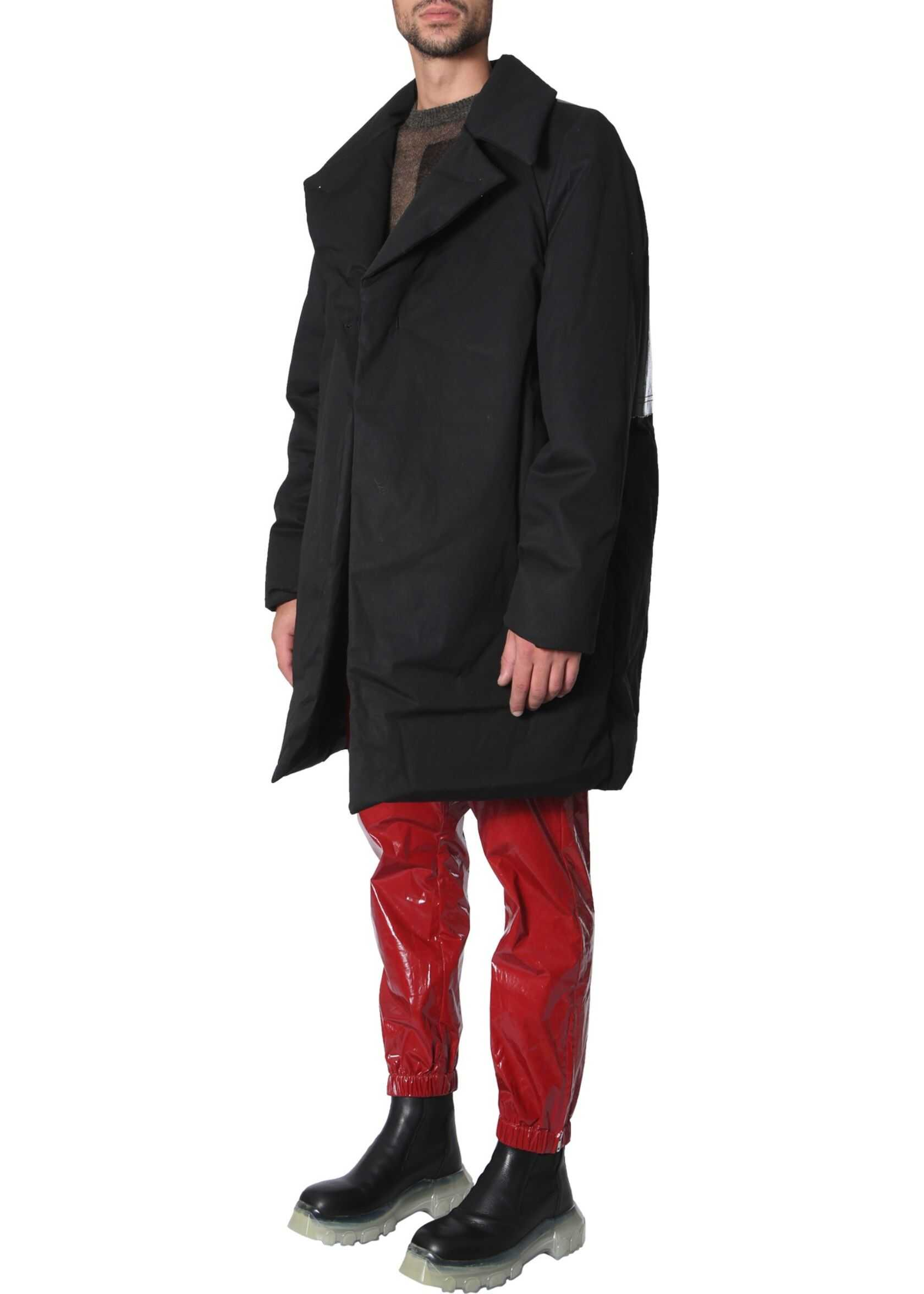 Rick Owens Padded Coat BLACK