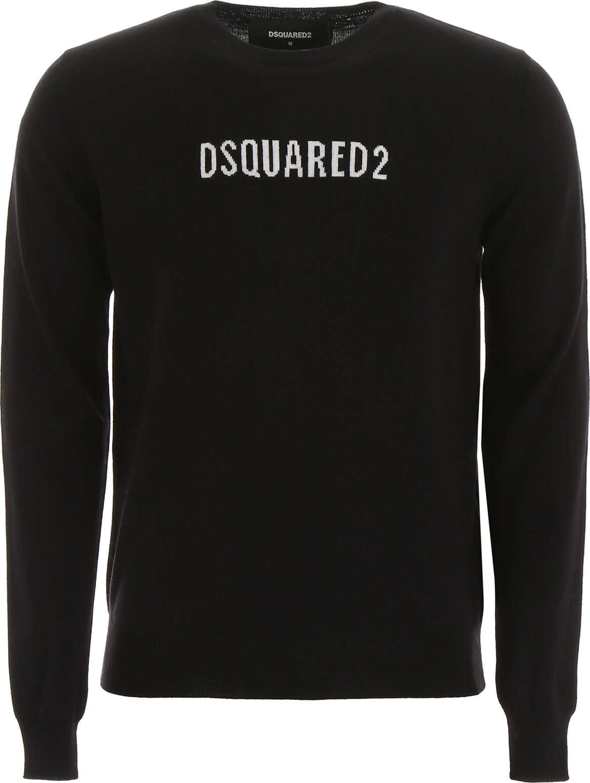 DSQUARED2 Logo Pullover BLACK WHITE