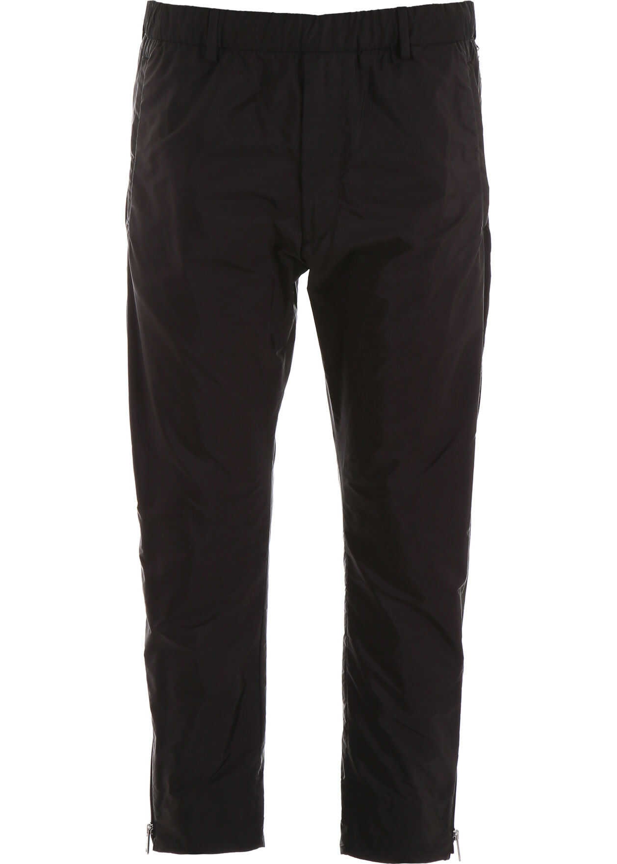 Prada Nylon Trousers NERO