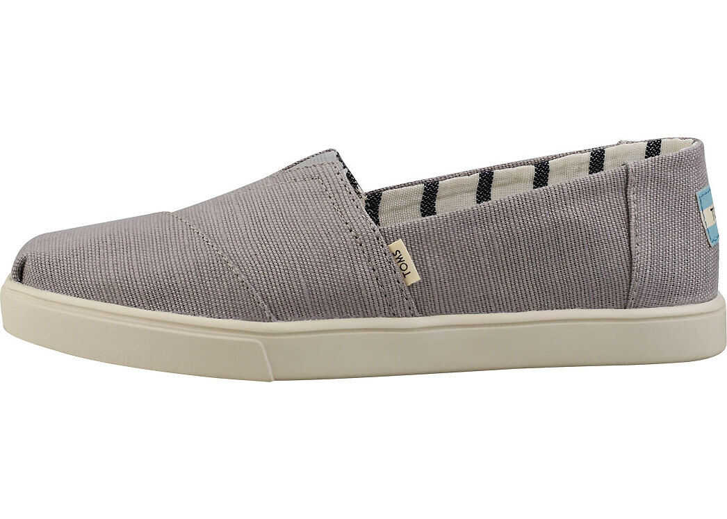 TOMS Heritage Canvas Capsole Espadrille Shoes In Grey Grey