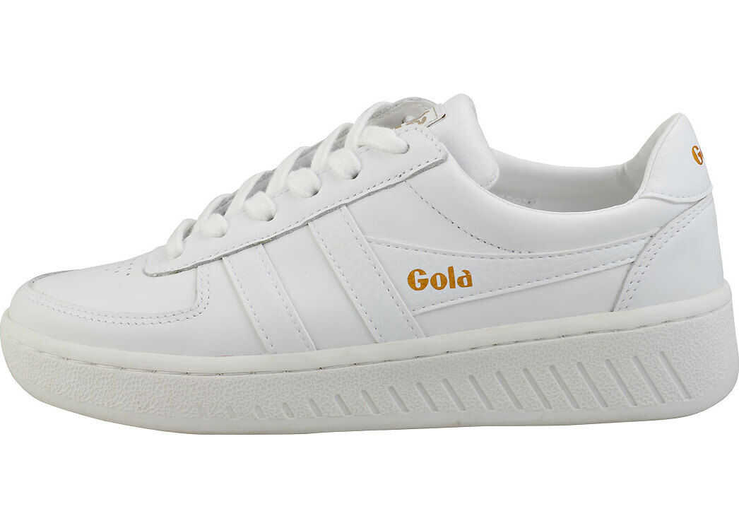 Gola Grandslam Casual Trainers In White White White