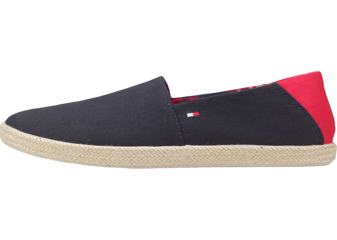 Tommy Hilfiger Easy Summer Slipon Shoes In Midnight Navy Navy