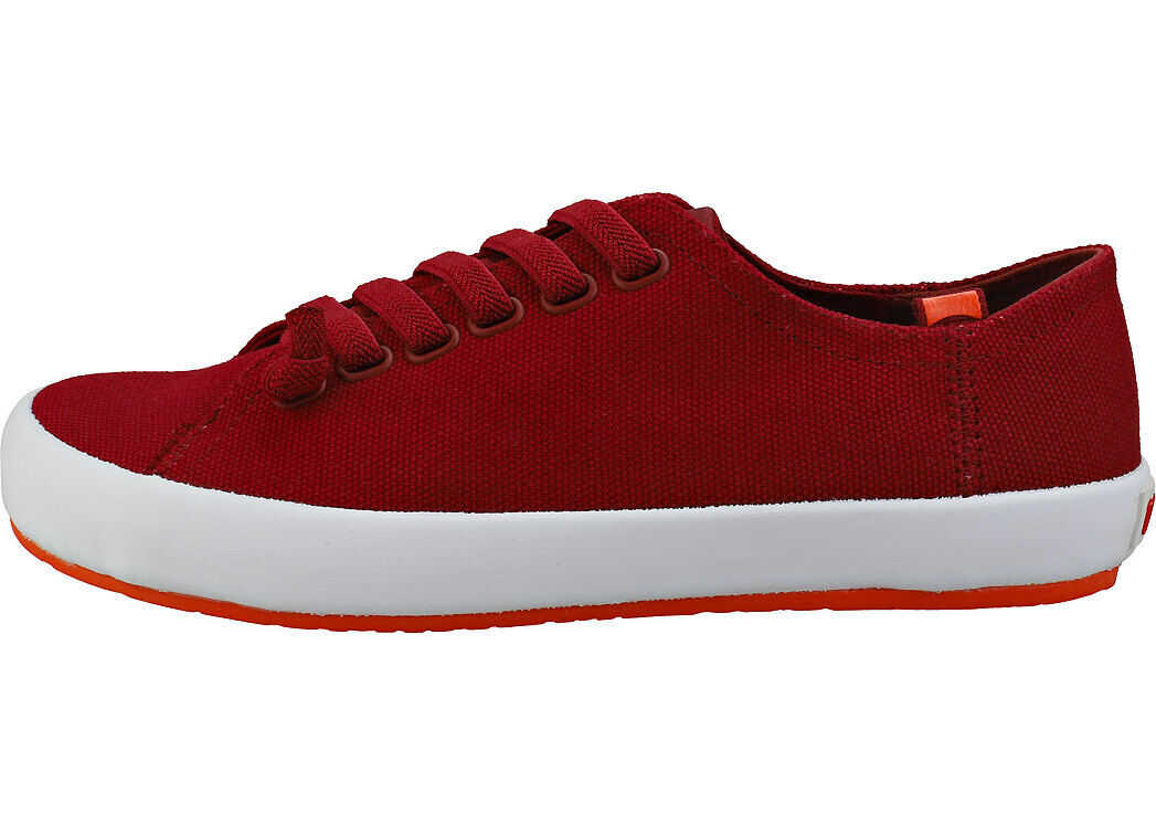 Camper Rambla Vulcan Low Sneaker Casual Trainers In Red Red
