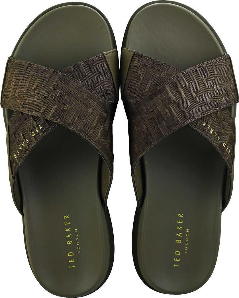 Ted Baker Mablis Walking Sandals In Dark Green Green