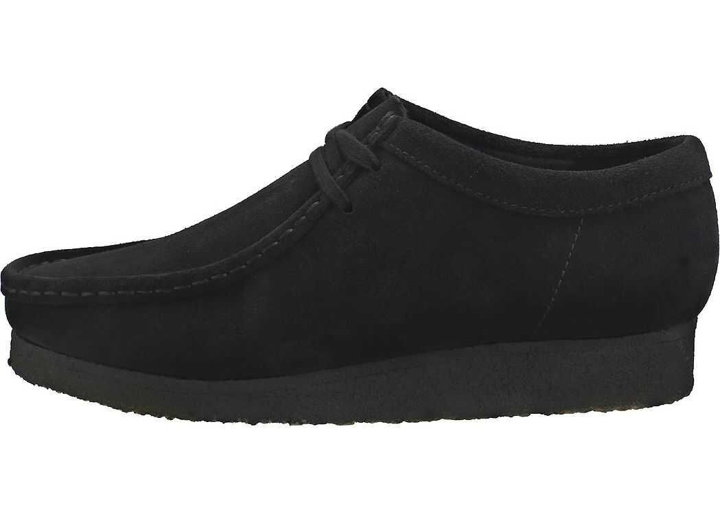 Clarks Wallabee Wallabee Shoes In Black Black