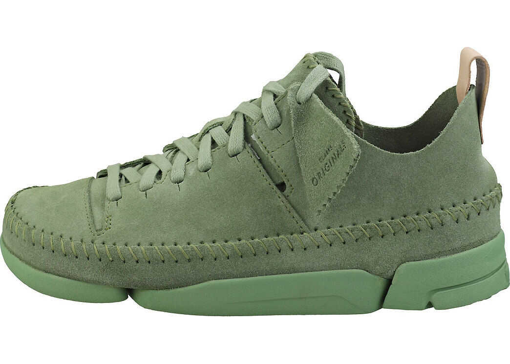 Clarks Trigenic Flex Casual Shoes In Green Green