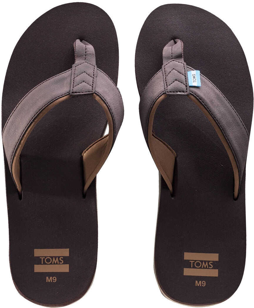 TOMS Carilo Beach Sandals In Chocolate Brown
