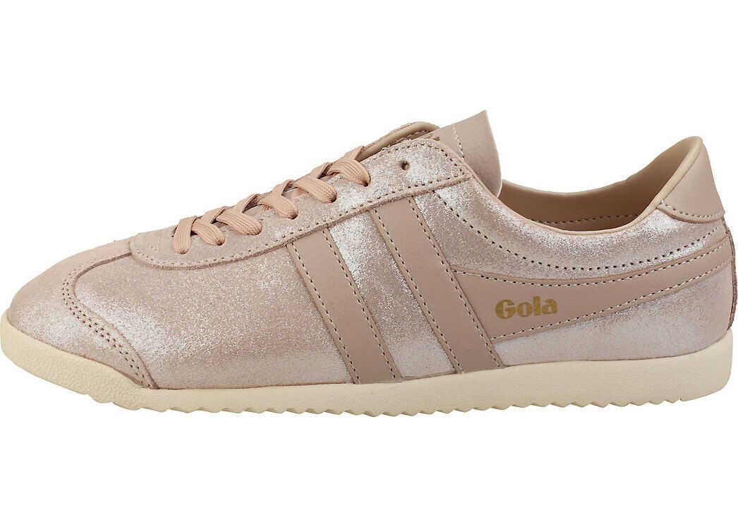 Gola Bullet Glitter Fashion Trainers In Blush Pink Pink