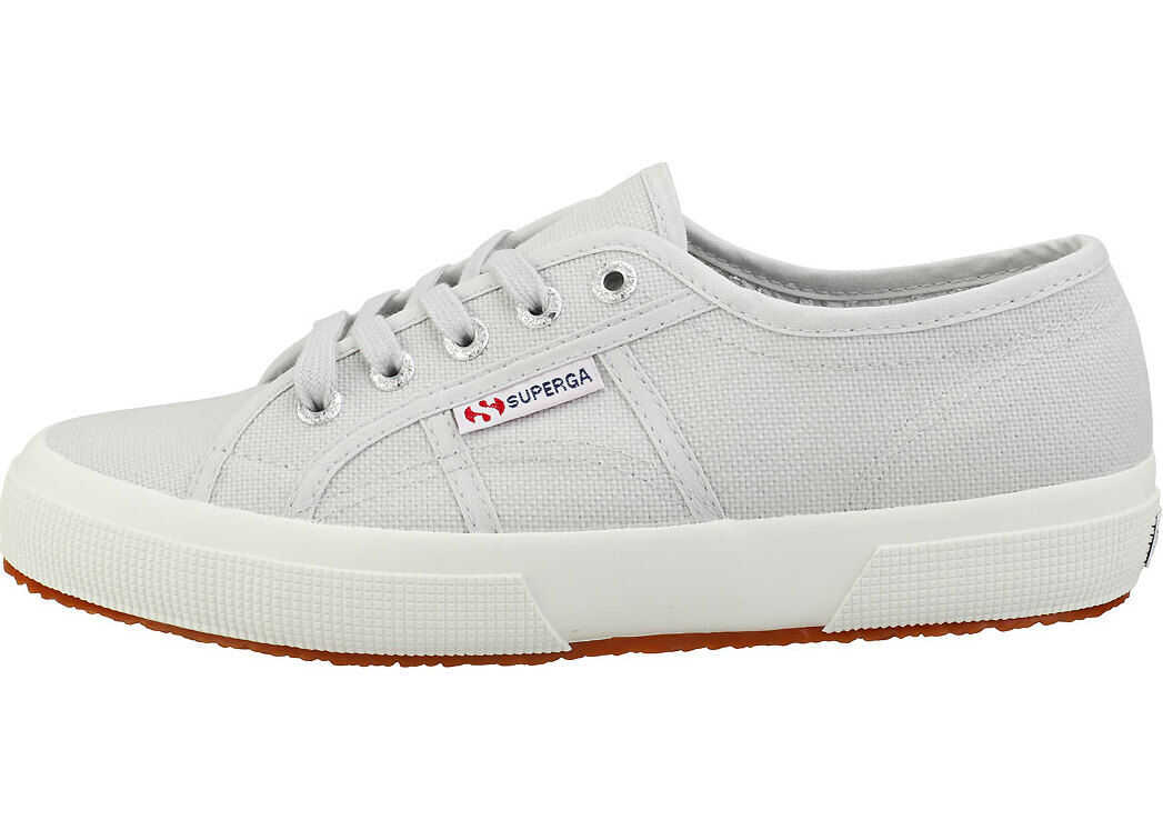 Superga 2750 Cotu Classic Plimsoll Trainers In Grey White Grey
