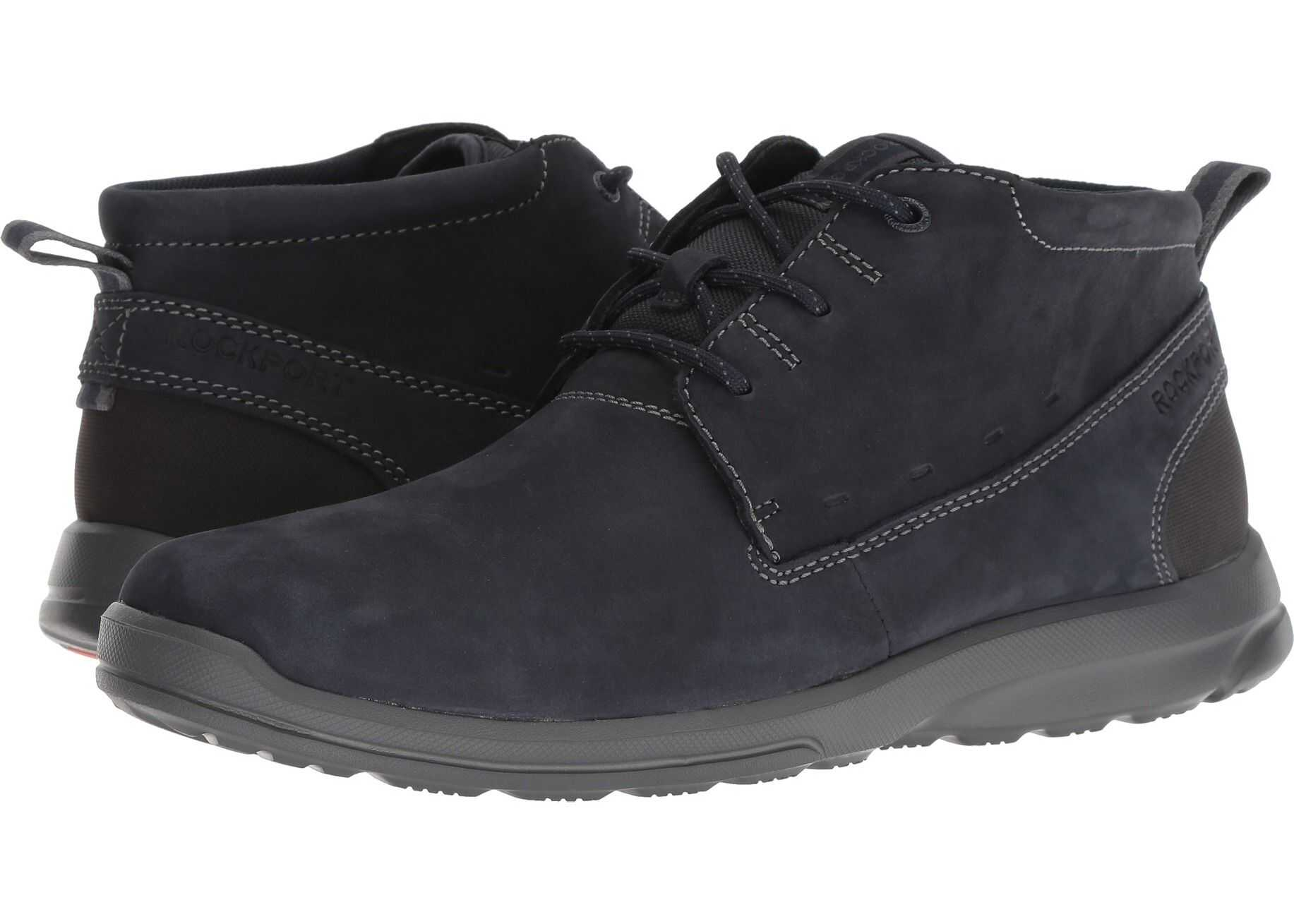 Rockport Rydley Chukka New Dress Blues Nubuck