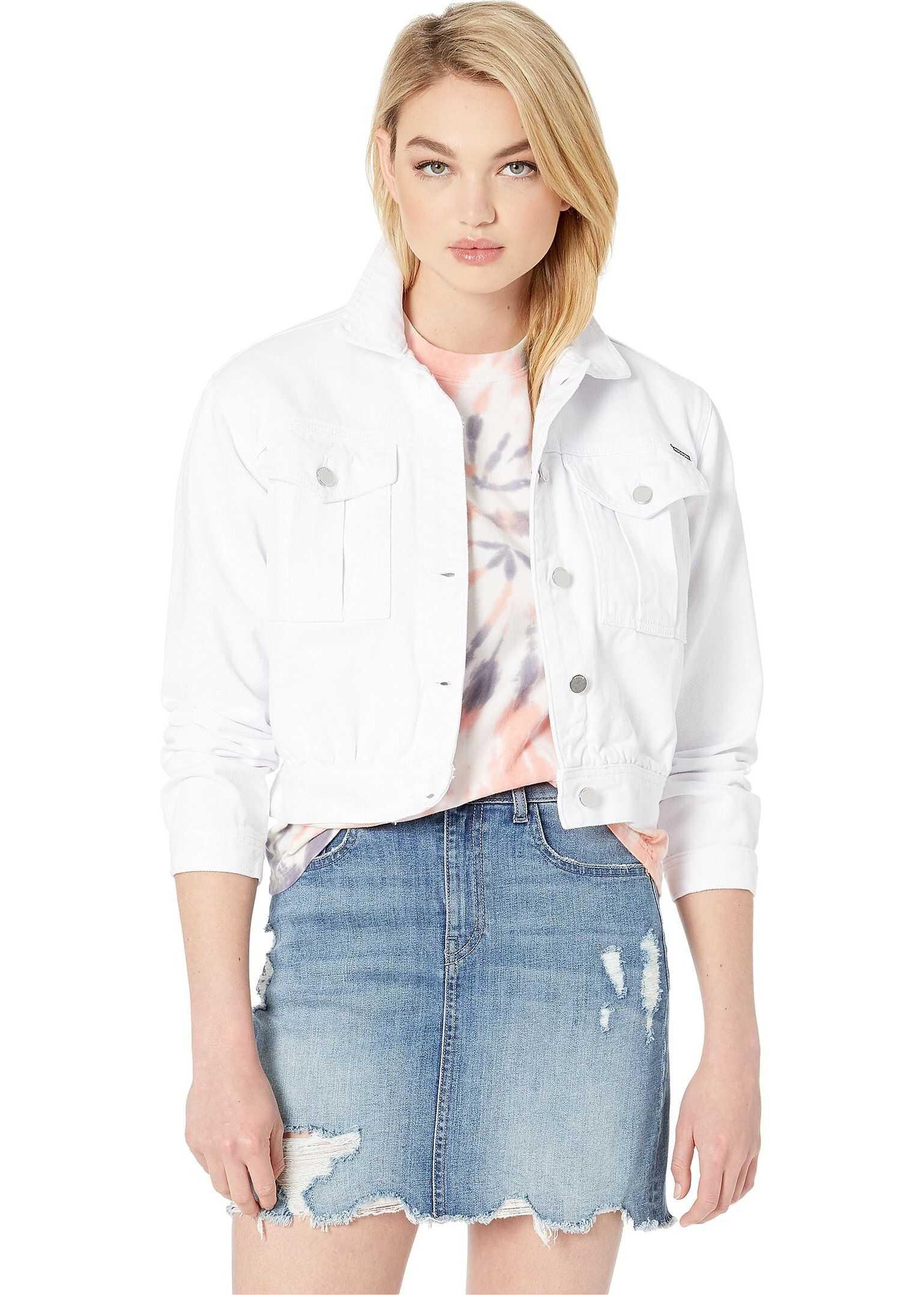 Volcom Fix It Denim Jacket White