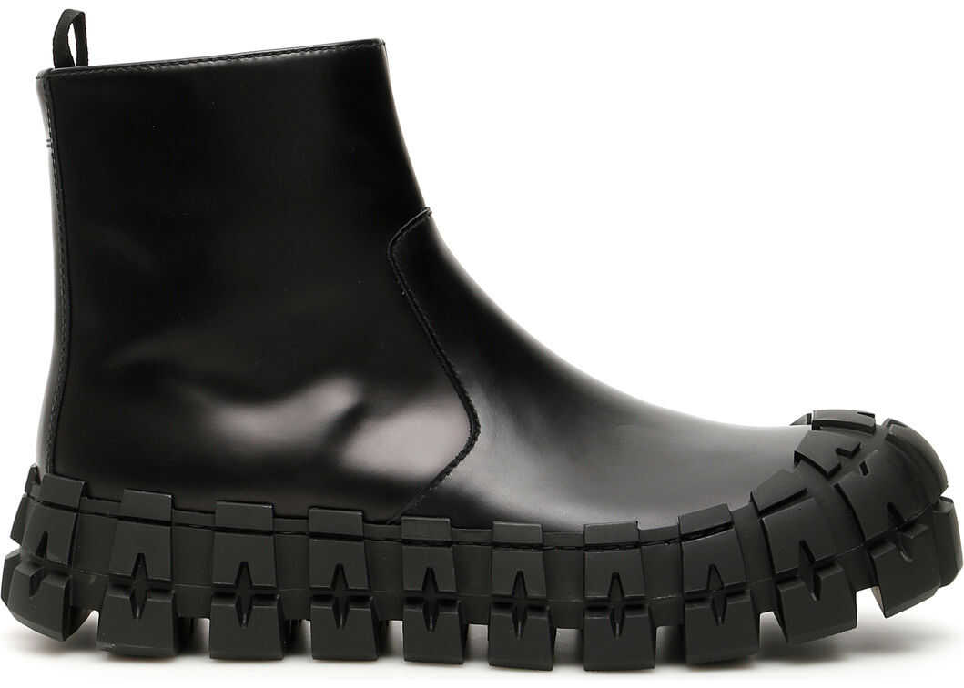 Prada Boots With Chunky Sole NERO