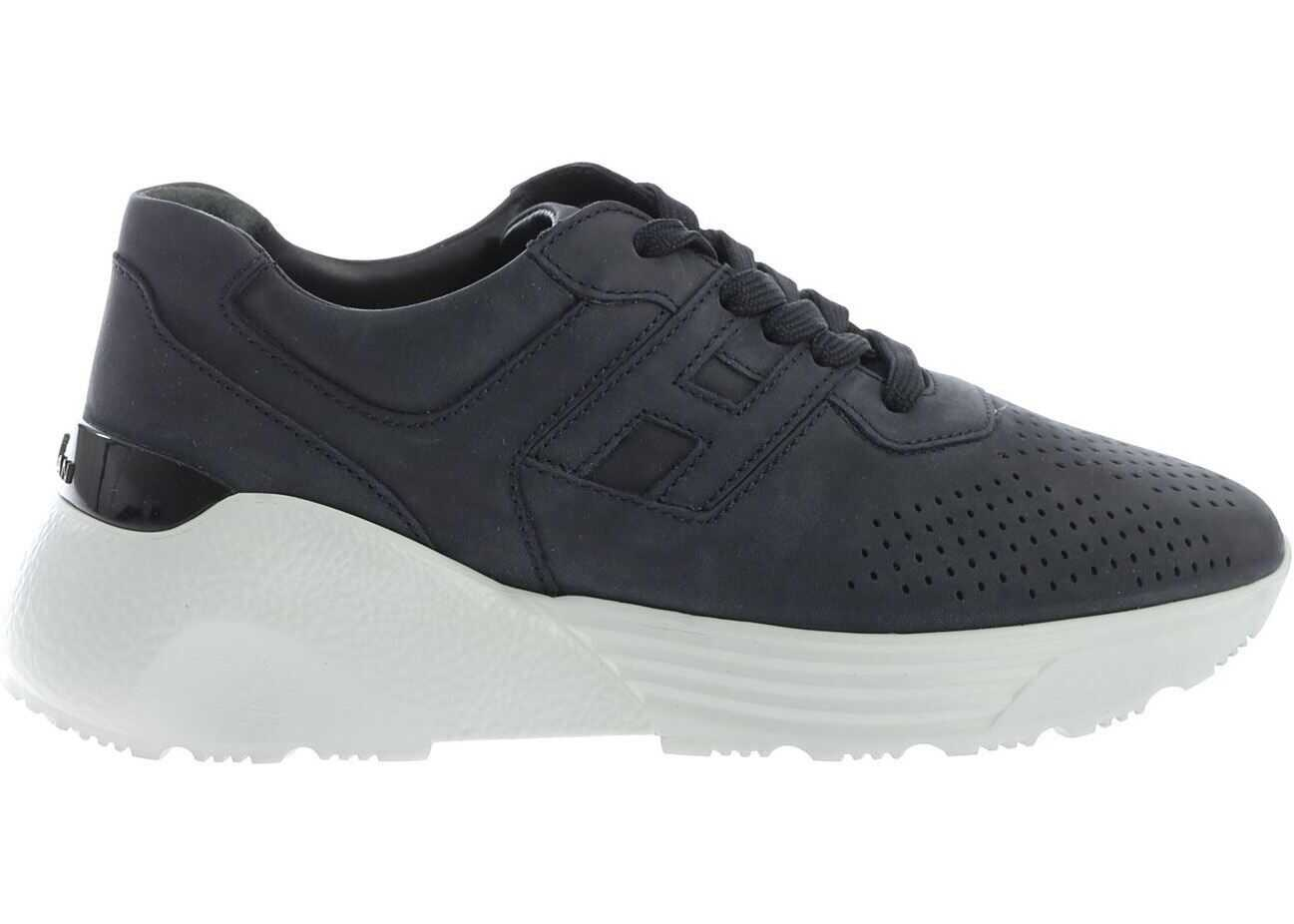 Hogan H443 Active Sneakers In Blue Blue