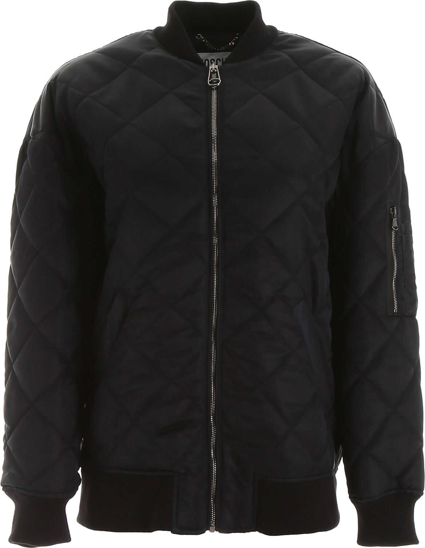 Moschino Teddy Bear Bomber Jacket BLACK